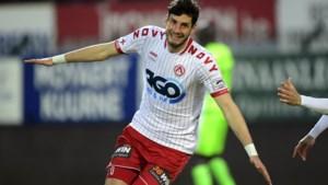 CLUBNIEUWS. Gegeerde Kortrijk-spits moet zeven miljoen kosten, Adzic scoort hattrick voor beloften Anderlecht