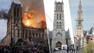 """Hoe zijn de kathedralen in ons land beveiligd tegen brand? """"Het drama met de Notre-Dame is een wake-upcall voor ons"""""""