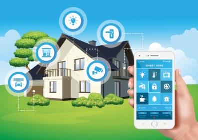Kan je smartphone voorkomen dat je huis afbrandt of onder water loopt als je op vakantie bent?