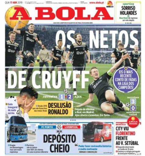 In Nederland dromen ze van Champions League-winst Ajax na nieuwe stunt, Italiaanse media zijn keihard voor Juventus