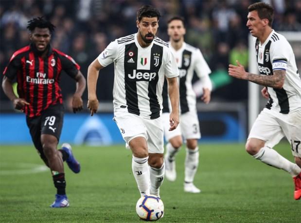 Juventus-speler Khedira moet na hartoperatie nu ook ingreep aan knie ondergaan