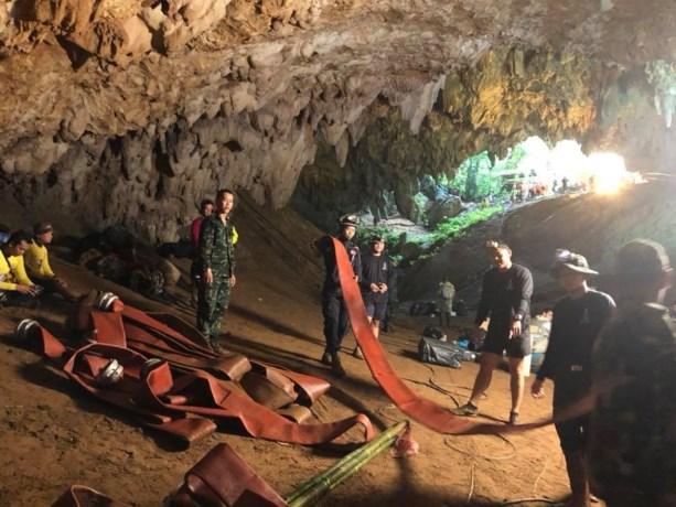 Britse duiker die Thaise grotjongens redde, zat zelf vast in grot