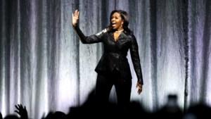 Imposante entree, goede soundtrack en peperdure kaartjes: hoe Michelle Obama een rockster werd