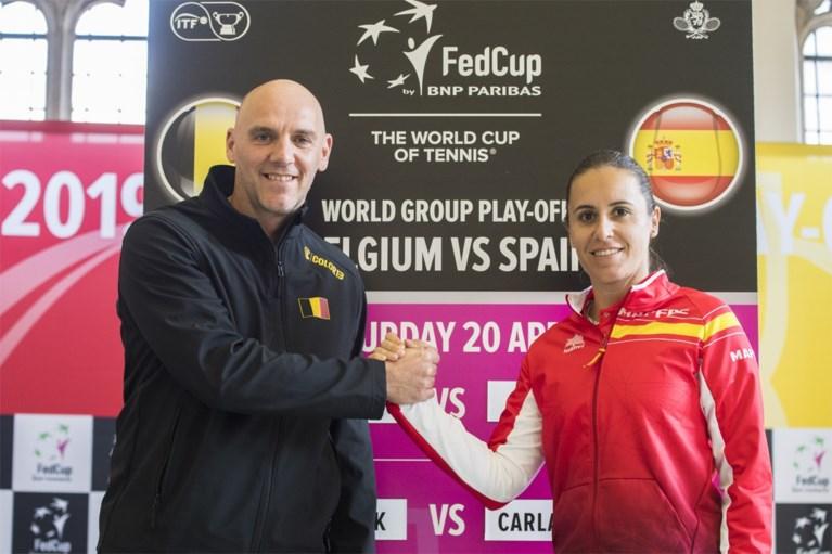 Loting Fed Cup. Flipkens opent tegen Muguruza, Van Uytvanck treft Suarez Navarro