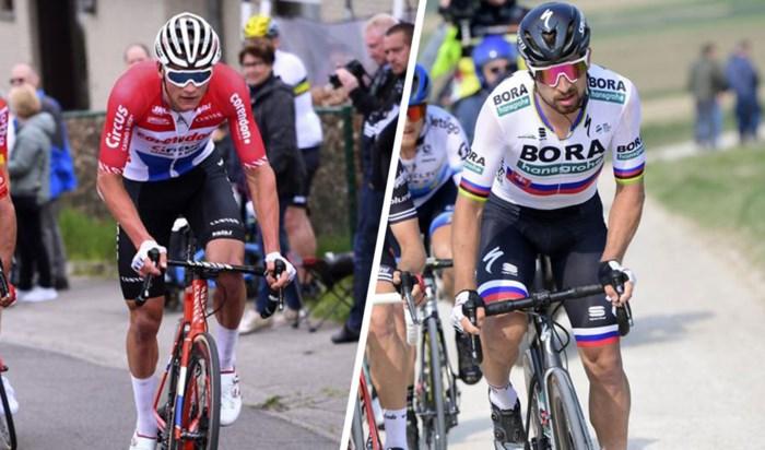 Terwijl heel Nederland Mathieu van der Poel naar de zege schreeuwt in de Amstel Gold Race, is het vijf voor twaalf voor Peter Sagan