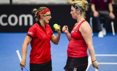 Flipkens en Bonaventure verliezen het beslissende dubbelspel in Fed Cup tegen Spanje: België degradeert naar Wereldgroep 2