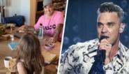Dochter Robbie Williams vertedert het internet met eigen versie van 'Angels', al maakt ze wel klein foutje