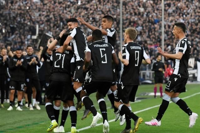 Straffe Griekse titelstrijd beslecht: PAOK voor het eerst sinds 34 jaar kampioen