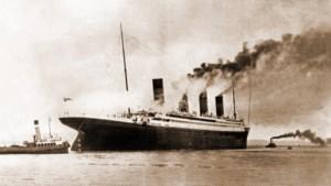 """Liefdesbrief beschrijft bijna-botsing van Titanic: """"Maar nipt weggeraakt"""""""