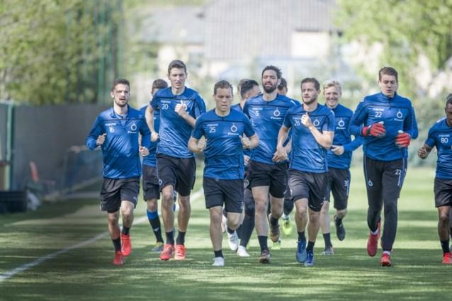Enkele opvallende afwezigen op groepstraining bij Club Brugge