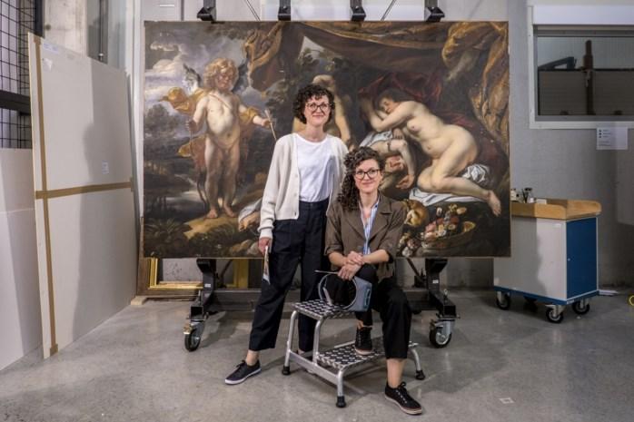 Ze delen een huis, een auto en ook een job: tweelingzussen nemen Vlaamse topwerken onder handen