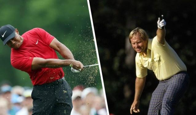 Herboren Tiger Woods gelooft in legendarisch record van Jack Nicklaus