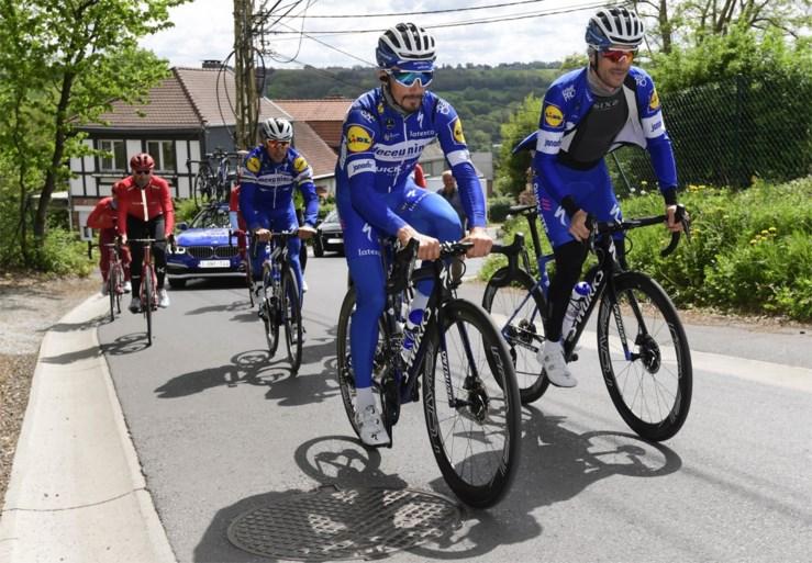 """Duo Gilbert - Alaphilippe wil wonderbaarlijk voorjaar Deceuninck - Quick Step feestelijk einde geven: """"En eindelijk komen we aan in Luik"""""""