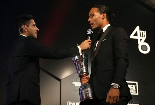 Niet Eden Hazard, maar Nederlander Virgil van Dijk is Speler van het Jaar in Engeland