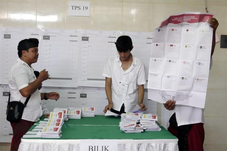 Al ruim 270 Indonesiërs overleden door uitputting bij tellen van stemmen