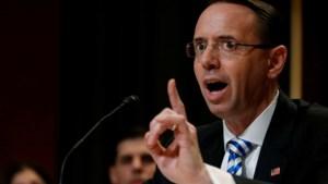 Amerikaanse viceminister van Justitie biedt ontslag aan