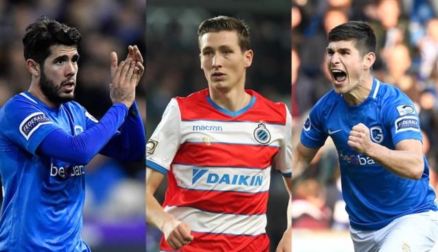 Wie kroont zich tot Profvoetballer van het Jaar: Ruslan Malinovskyi, Alejandro Pozuelo of Hans Vanaken?