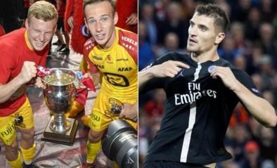 Thomas Meunier feliciteert KV Mechelen met bekerwinst, maar Malinwa spot meteen het steekje