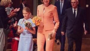 Prinsesje Eléonore draagt 'afdankertje' van Elisabeth