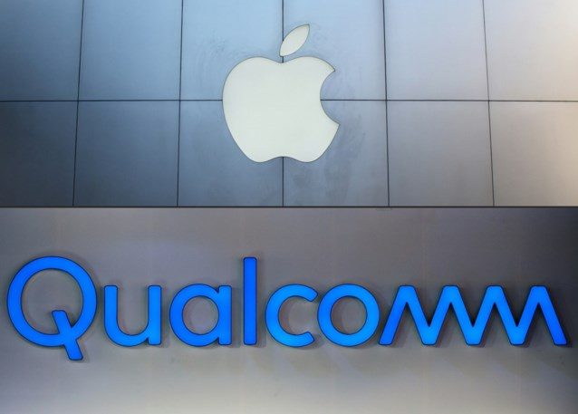 Chipfabrikant Qualcomm krijgt miljarden van Apple