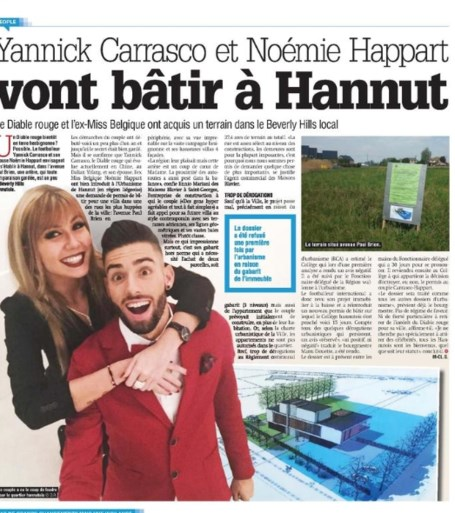 """Yannick Carrasco en zijn Noémie willen luxevilla bouwen in het Luikse """"Beverly Hills"""", maar krijgen ze wel groen licht?"""
