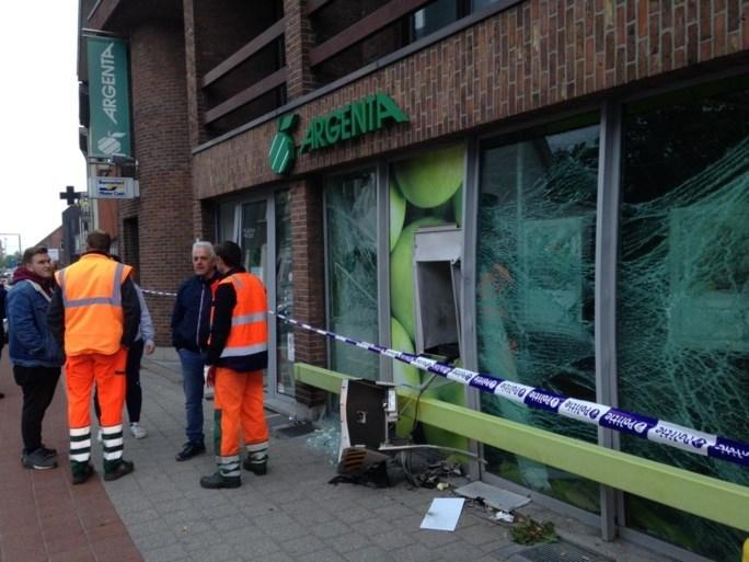 Plofkraak op Argenta-bank in Retie, vermoedelijke daders 'namen enkel testbiljetten mee'