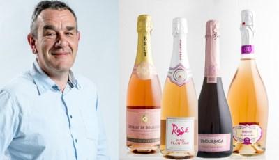 """Alain Bloeykens kiest vier rosébubbels: """"Heel wat meer te bieden dan louter hun kleur"""""""