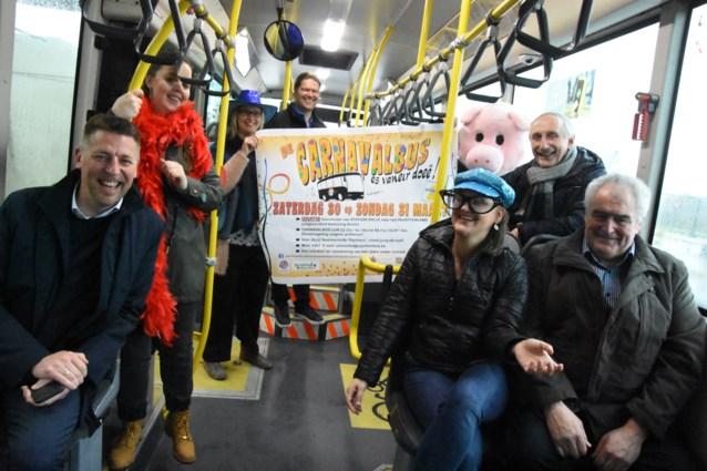 3.700 feestvierders reden met de carnavalsbussen