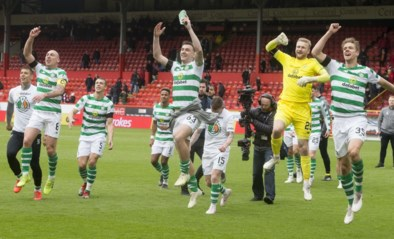 Achtste keer op rij, vijftigste in totaal: Celtic opnieuw kampioen van Schotland