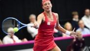 Yanina Wickmayer wint dubbelspel in Duitsland