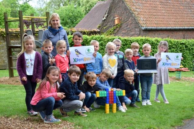 Vrije Basisschool Sint-Katrien in de ban van koolmeesjes