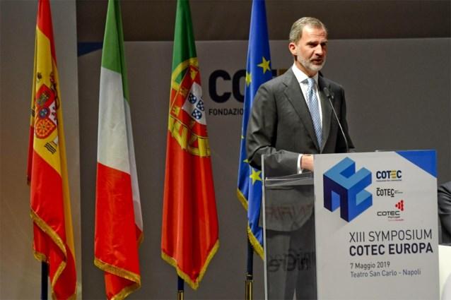 Pijnlijk foutje: Spaanse koning in Italië verwelkomd met hymne uit het Franco-tijdperk