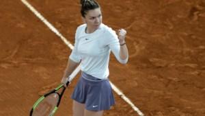 Simona Halep verliest geen enkel spelletje op weg naar de kwartfinales in Madrid