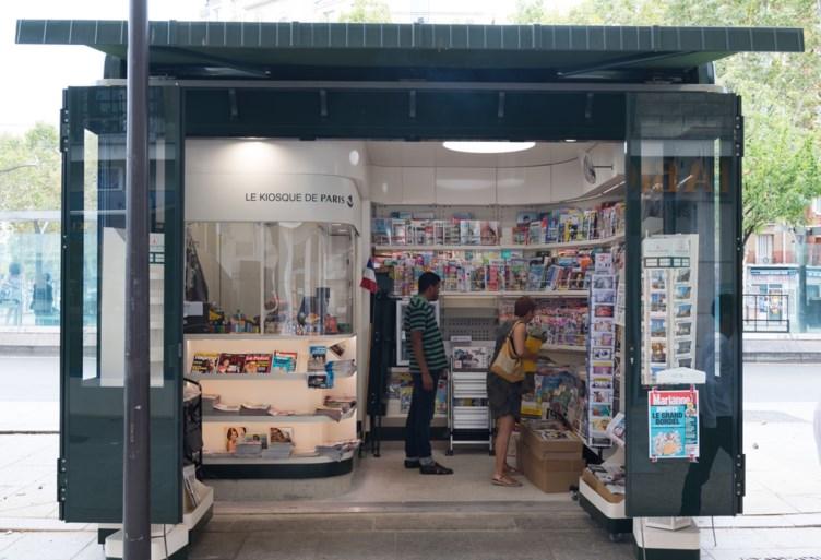 Wat is er gebeurd met de iconische kiosken in Parijs?