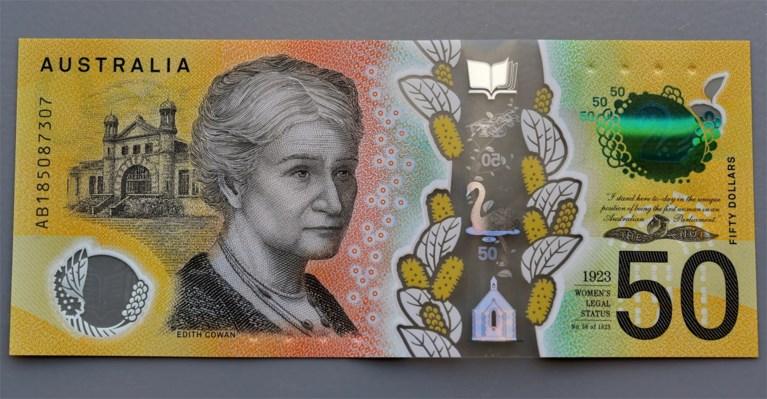 Australische bank print 46 miljoen nieuwe bankbiljetten... met drie keer dezelfde gênante spelfout