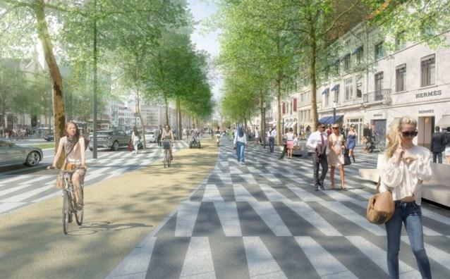 """Brussel maakt 10 miljoen euro vrij voor """"eigen versie van Champs Elysées"""""""