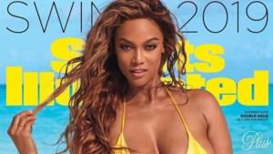 Na 23 jaar prijkt Tyra Banks opnieuw op de cover van Sports Illustrated