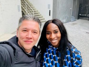 """Elodie Ouedraogo over Jeroom, een cameltoe, een lift van Albert van Monaco en de ondertussen beruchte scheet: """"Real life!"""""""