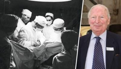 De Belgisch topdokter die als allereerste een succesvolle longtransplantatie uitvoerde