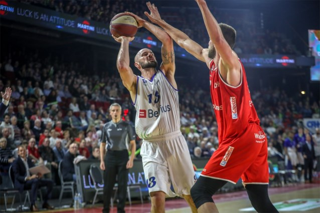 Charleroi en Aalstar nemen revanche op Bergen en Mechelen in EuroMillions Basket League