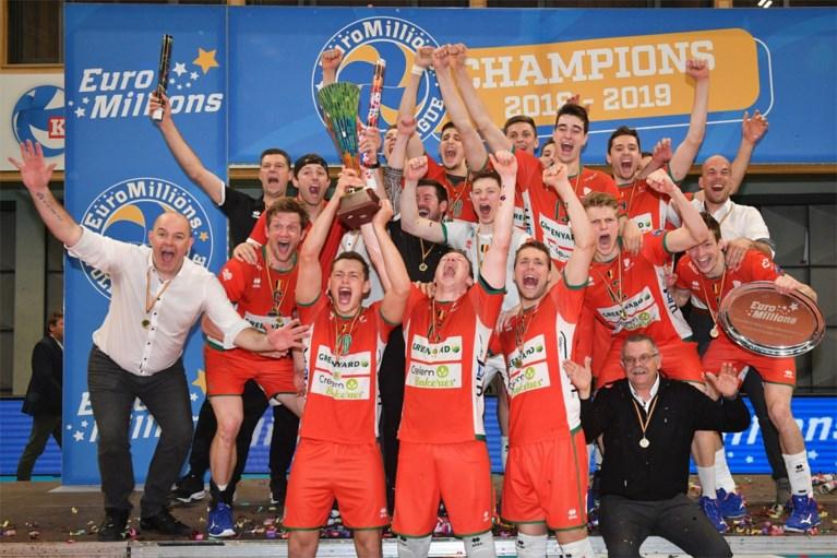 Een thriller voor de eeuwigheid: Maaseik is weer volleybalkampioen na straffe comeback tegen Roeselare