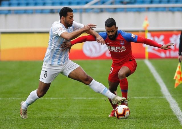 Mousa Dembélé loodst zijn club Guangzhou R&F naar zege met twee assists