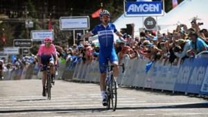 Deceuninck-Quick Step-talent Kasper Asgreen boekt eerste profzege in Ronde van Californië