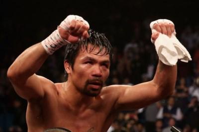 """Waarom de 40-jarige miljardair Manny pacquiao toch opnieuw wil boksen: """"Een vogel wil vliegen, een bokser wil boksen"""""""