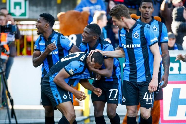 Als een leeuw in een kooi: Club Brugge veegt na de rust vroege achterstand op een kwartier weg en houdt titelkansje gaaf