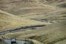 Cavagna bezorgt Deceuninck-Quick Step tweede ritzege in Ronde van Californië met indrukwekkende solo
