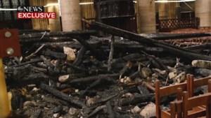 Zo ziet binnenkant van de Notre-Dame eruit 1 maand na brand