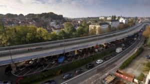 Brussels viaduct Herrmann-Debroux wordt afgebroken