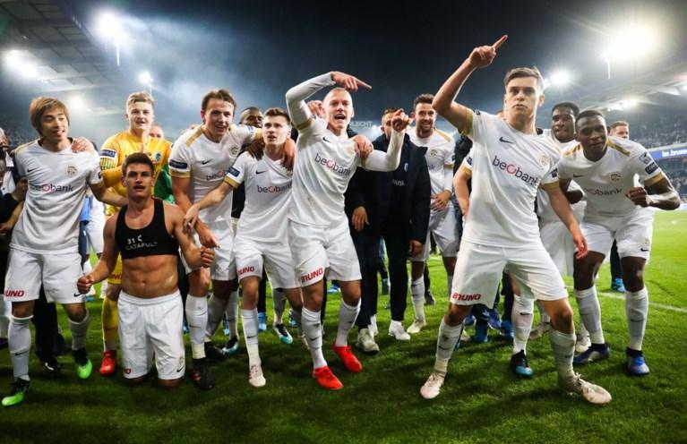 KRC Genk kampioen! Limburgers spelen gelijk in Anderlecht, maar profiteren van verlies Club Brugge