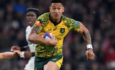 """Australische rugbyer krijgt ontslag na homofobe berichten: """"Mijn plicht om het woord van God te verspreiden"""""""